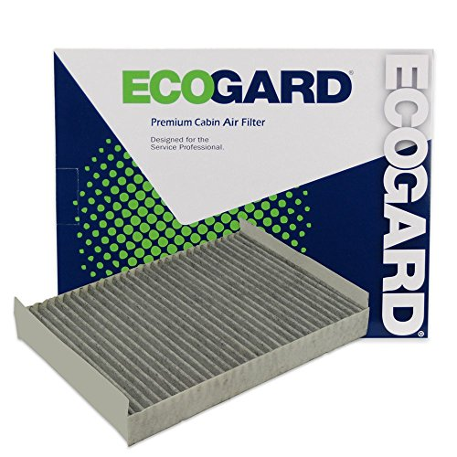 ECOGARD XC35526C Cabin Air Filter with Activated Carbon Odor Eliminator - Premium Replacement Fits Lincoln LS/Jaguar S-Type, Vanden Plas by EcoGard