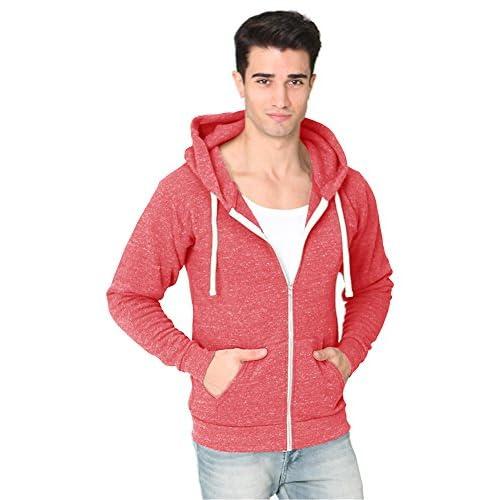 b420064c7f9 50%OFF Unisex ECO Triblend Fleece Full Zip Hoody Men Women's Hoodies Royal  Apparel