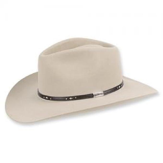 1cf5f7fb Stetson Pawnee Gun Club Hat (7 1/4, Silverbelly): Amazon.ca ...