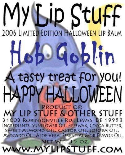My Lip Stuff- HOB GOBLIN (Sweet Pumpkin Mousse flavor) LIMITED EDITION HALLOWEEN LIP BALM ()