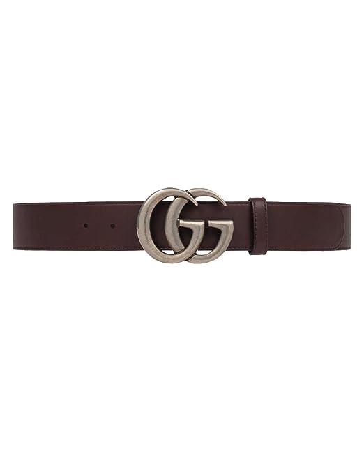 scarpe esclusive vende ufficiale più votato Gucci Cintura in pelle da Uomo DOUBLE G (397660AP00N2145 ...