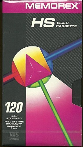 3 Pack HS T-120 Minute Video Tape