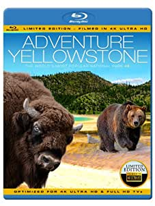 ADVENTURE YELLOWSTONE - The World's Most Popular National Park (Limited Edition - Filmed in 4K ULTRA HD) [Blu-ray]