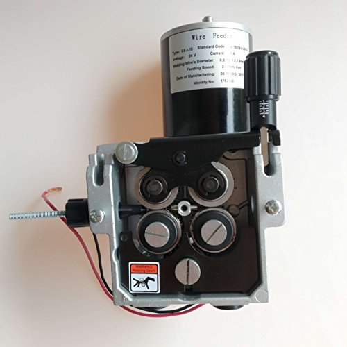 Welding Wire Feeder 24V 4 Rolls Wire Feed Assembly 1.2-1.6mm/.045-1/16