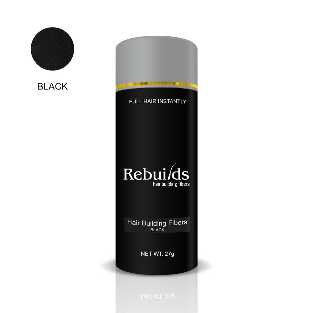 Buy Rebuilds Hair Fibers Black 27g Online At Low Prices In India Gb Stroller Majik