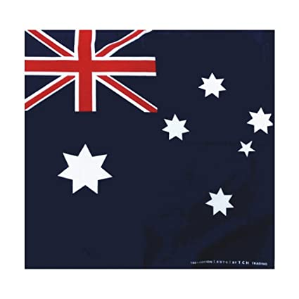 Amazoncojp バンダナお弁当チーフオーストラリア国旗柄豪州
