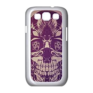 Samsung Galaxy S3 9300 Cell Phone Case White Skulls artwork BNY_6752759