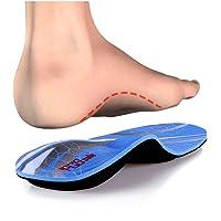 PCSsole Plantillas Ortopedicas-Plantillas para pies planos, dolor en los pies, fascitis plantar, dolor de talón…