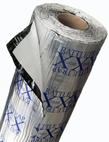 (FatMat Self-Adhesive RattleTrap Sound Deadener Bulk Pack with Install Kit - 50 Sq Ft x 80 mil Thick)