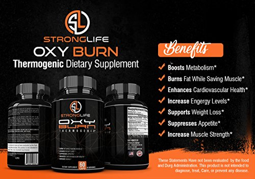 Stronglife-Thermo-Fat-Burner-Capsules-Weight-Loss-Supplement-with-Green-Tea-Raspberry-Ketones-Yohimbe-Bark-Natrual-Energy-Booster-Enhance-Muscle-Strength-Focus-Support-Non-GMO-Made-in-USA