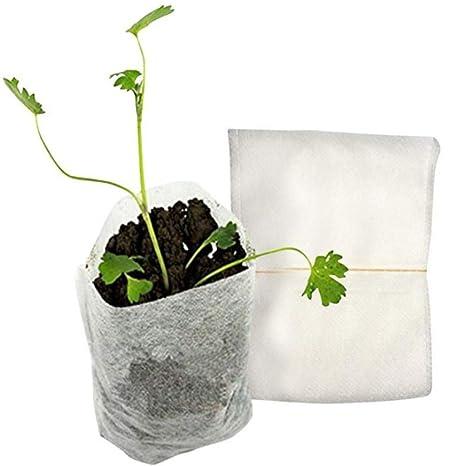 SHKY Bolsas de Cultivo de Plantas de semillero, Bolsas de ...