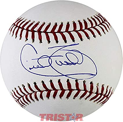 Autographed Cecil Travis Ball COA American League Autographed Baseballs Tristar Productions Certified