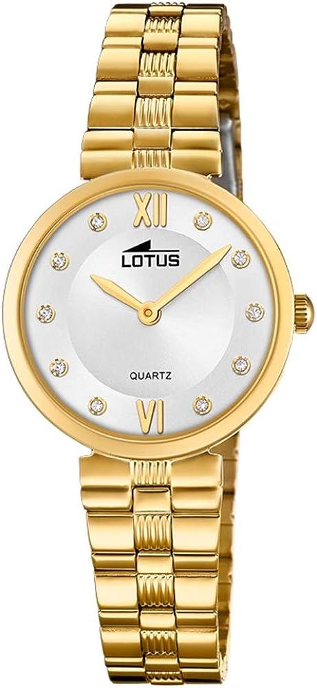 Lotus Reloj Analógico para Mujer de Cuarzo con Correa en Acero Inoxidable 18543/2