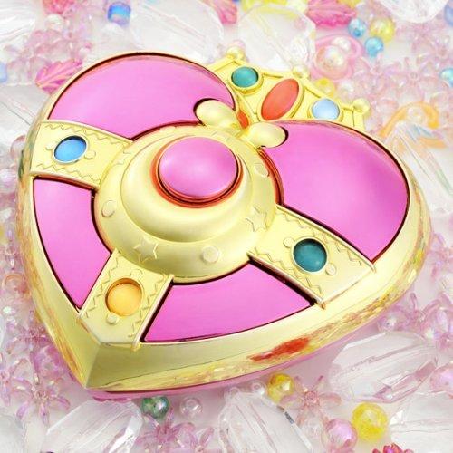 Bandai Sailor Moon S Moonlight Memory Series Cosmic Heart Mirror Case (Compact Mirror Heart Crystal)