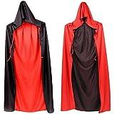 LIYZU Black Red Reversible Dress Goth 32.5
