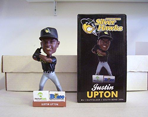 Justin Upton South Bend Silver Hawks Baseball SGA - 06/25/11 Bobblehead