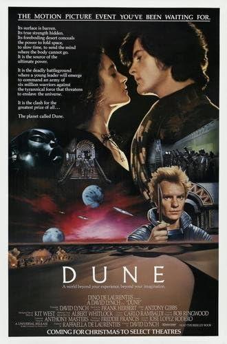Dune Movie Poster 24x36