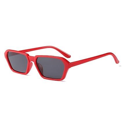 Yefree Gafas de sol rectangulares de la vendimia Gafas de ...