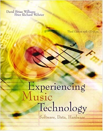 Book Experiencing Music Technology (with DVD-ROM)