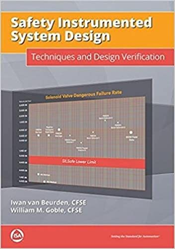 Safety Instrumented System Design Techniques And Design Verification Van Beurden Cfse Iwan Goble Cfse William 9781945541438 Amazon Com Books