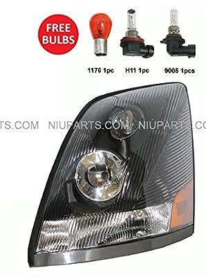 Volvo VNL Headlight Lamp - Driver Side