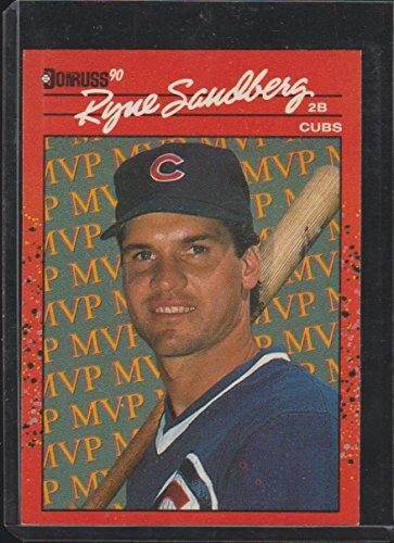 1990 Donruss Ryne Sandberg Cubs MVP Baseball Card ()