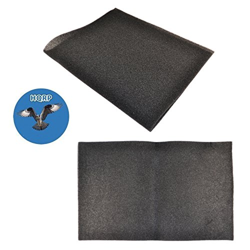 HQRP 2-pack Cut-to-fit Foam Filter for Air Conditioning Unit/Furnace Unit, 24