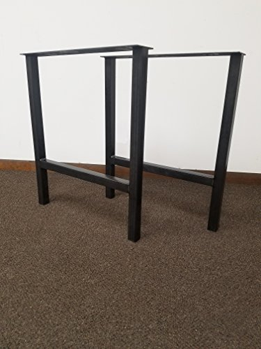 metal base dining table - 2