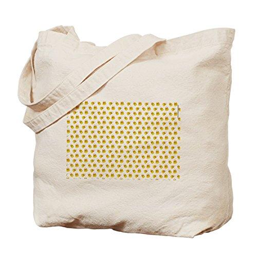 CafePress - Halloween Cute Candy Corn Tote Bag - Natural Canvas Tote Bag, Cloth Shopping Bag (Cute Candy Corn Costumes)