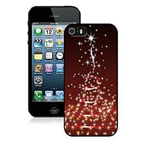 Individualization Iphone 5S Protective Case Merry Christmas iPhone 5 5S TPU Case 92 Black by Maris's Diary