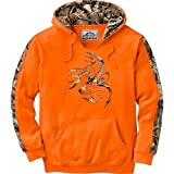 Legendary Whitetails Mens Camo Outfitter Hoodie, Inferno, X-Large