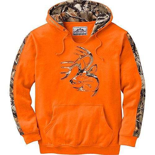 Legendary Whitetails Mens Outfitter Hoodie Inferno X Large