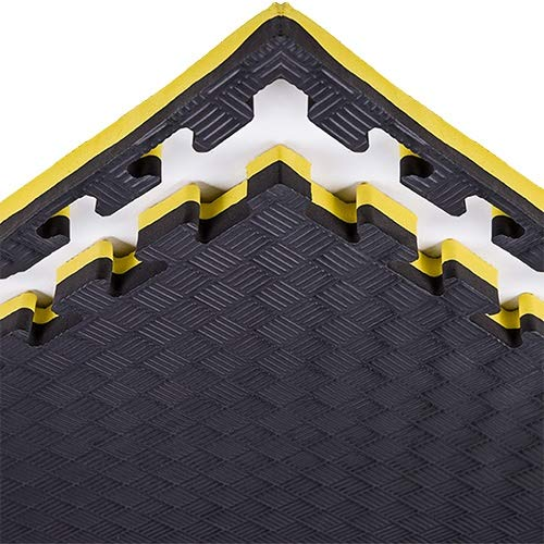 XJJUN Soft Foam Play Mats, EVA Foam Interlocking Tiles For Protective, Cushioned Workout Flooring For Home And Gym…