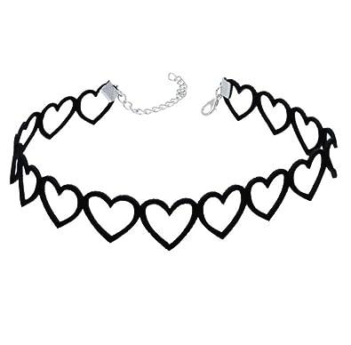 AnaZoz Joyería de Moda Collar de Mujer Collar Punk Gothic Choker ...
