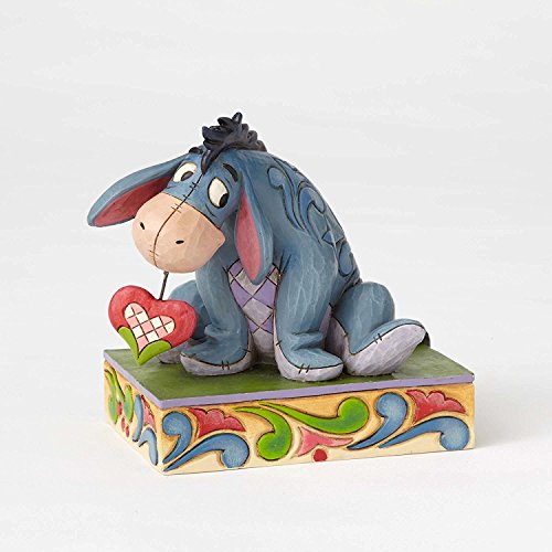 - Disney Traditions by Jim Shore - Eeyore w/ Heart Personality Pose