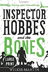 Inspector Hobbes and the Bones: (Unhuman IV) Cozy Mystery Comedy Crime Fantasy - Large Print Paperback