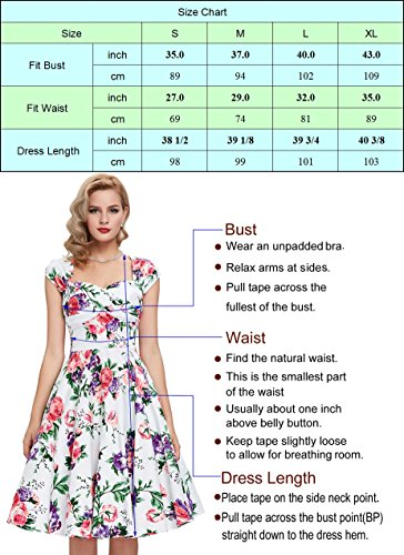 BP257 Floral Poque Belle Vintage Plaid Hepburn Tartan Sleeve 1 Belt with Dress Half Swing Aq67Pq