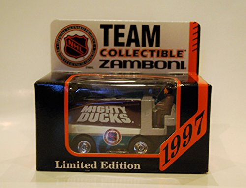 1997 NHL Team Collectible 1:50 Scale Diecast Collectors Zamboni - MIGHTY DUCKS of ANAHEIM
