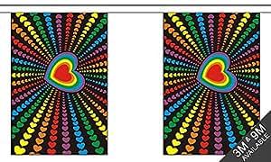 The Flag B098500 Wholesaler - Banderines, multicolor, tamaño pequeño