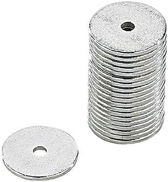20er-Pack winzige 12 x 1 mm Neodym-Ringmagnet N35 mit Loch Magnet