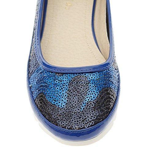 CATISA-BAL4_RS104 Bailarina de mujer Azul - azul