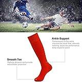 Soccer Socks Orange Three street Unisex Youth