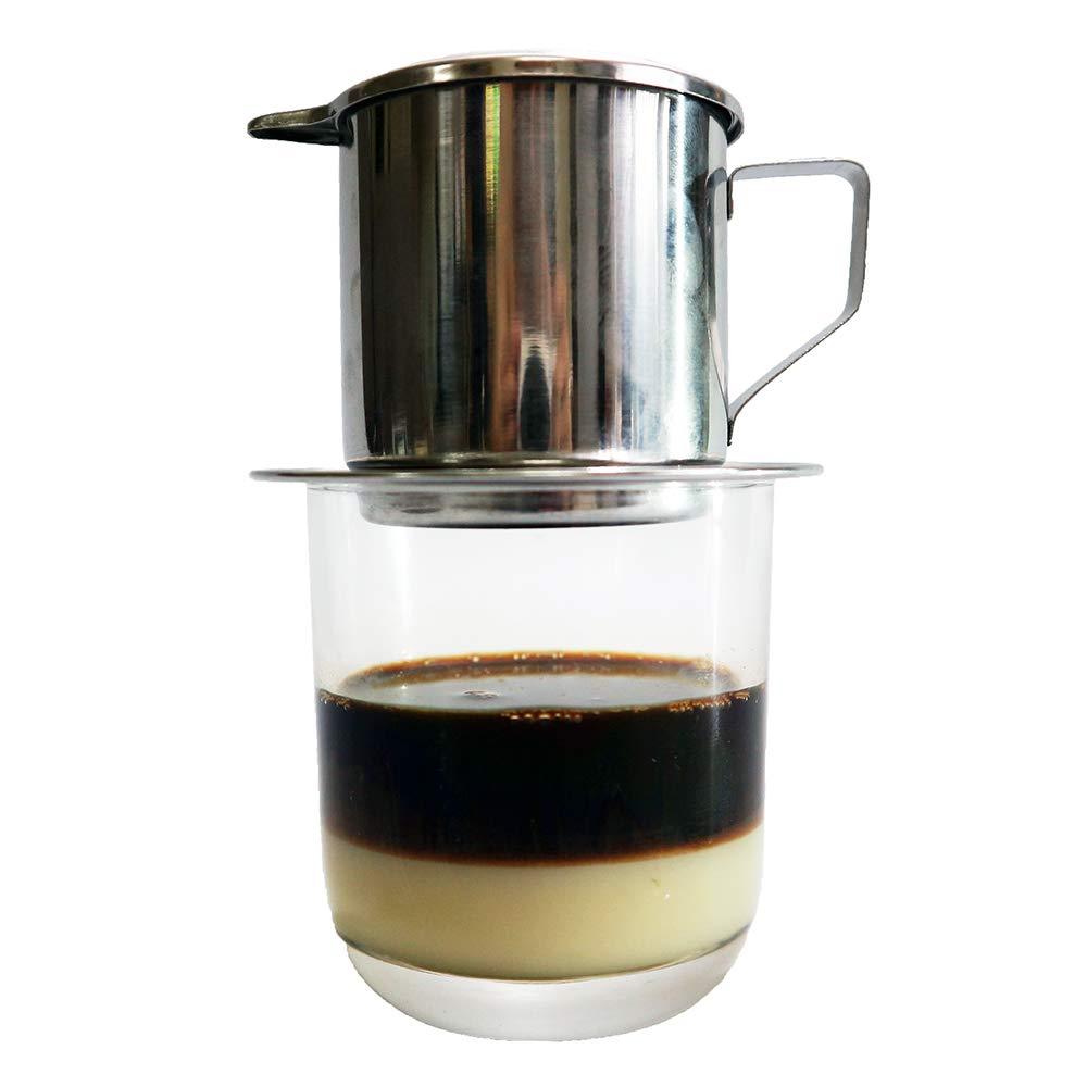 Amazon.com: HEMERA Cafetera vietnamita tradicional filtro de ...