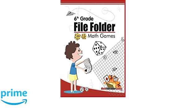 Amazon.com: 6th Grade File Folder Math Games (6th Grade Math Games ...