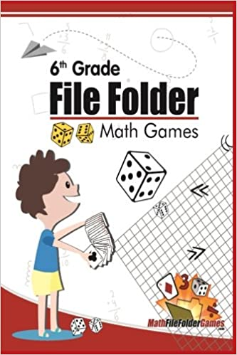 Amazon.com: 6th Grade File Folder Math Games (6th Grade Math Games ...