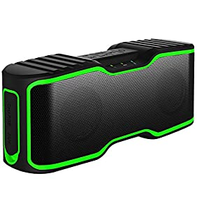 URPOWER II Portable Wireless Bluetooth Speakers Waterproof IPX7 Rating with 20W Enhanced Bass, Stereo Pairing, NFC Tech, Bluetooth 4.0 for iPhone 7/7Plus, iPad iPod and Android Phones