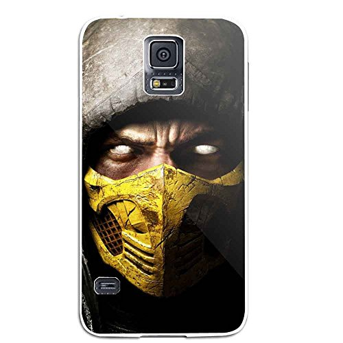 Scorpion Mortal Kombat X for Samsung Galaxy S5 White case