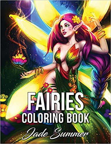 Amazon.com: Fairies Coloring Book: An Adult Coloring Book with ...