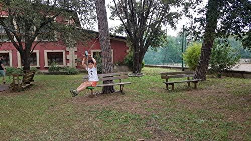 MASGAMES | Tirolina de jardín con Asiento pendular | Cable de 30 Metros | para Poner Entre Dos árboles |: Amazon.es: Juguetes y juegos