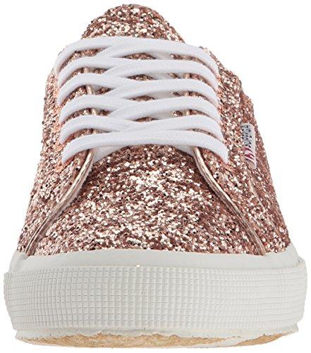 Superga Womens 2750 Macroglitter Sneaker Gull Glitter